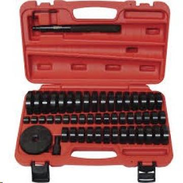 50pc Bearing Seal Driver Tool Set Custom Bush Bearing Hydraulic Press 18-65mm US