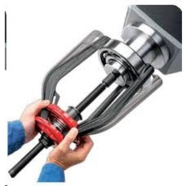 12PCS Safty Use bearing Splitter Gear Puller Fly Wheel Separator Set Tool Kit #1 image