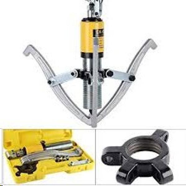 【US】 52pc Bearing Seal Driver Tool kit Custom Bushing Bearing Hydraulic Press #1 image